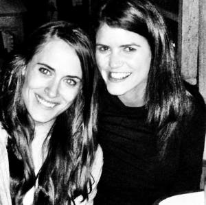 Spending a night out with Katie at a small bar in Maua Kenya.