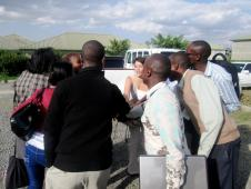 Tatua Kenya Team Celebrating a Training