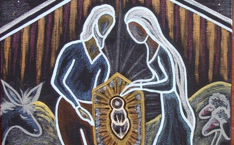Holy Night by Kimberly Greeno https://www.etsy.com/listing/259600138/holy-night-christmas-nativity-scene