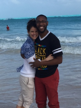 Darrell and I went to Bermuda to celebrate his 28th birthday last week.